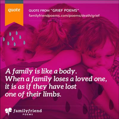 Family Friend Poems, Grief Poems Poems about Grief