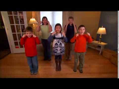 Video Modeling - Body Parts Song