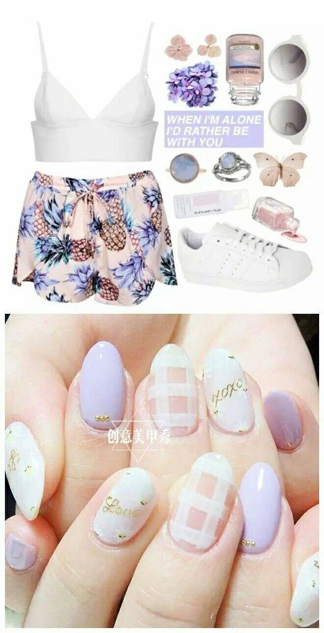 55 beste afbeeldingen van Nail Art - Nagelkunst, Blauwdrukken en Bloemen