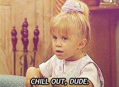 Gifs of Michelle Tanner that basically describe me (mostly) ... Drama gives you unnecessary anxiety.