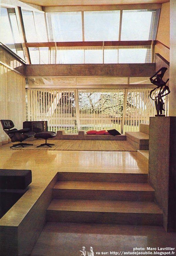 Versailles maison drusch architecte claude parent ing nieur conseil d m - Claude parent architecte ...