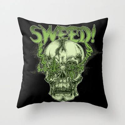 SWEED!! Throw Pillow by Cycoblast Artwork - $20.00