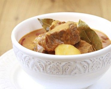 Curry Massaman de ternera
