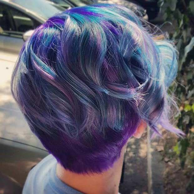 25 Best Ideas About Blue Purple Bedroom On Pinterest: 25+ Best Ideas About Purple Pixie On Pinterest