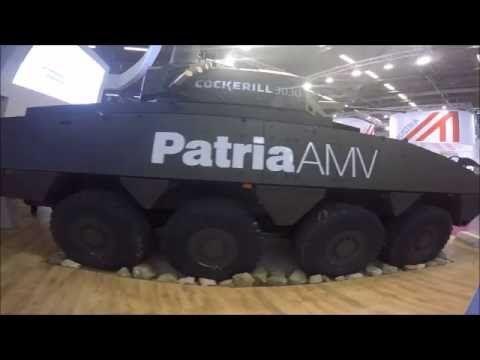 The Cockerill 3000 Turret & Patria AMV - YouTube