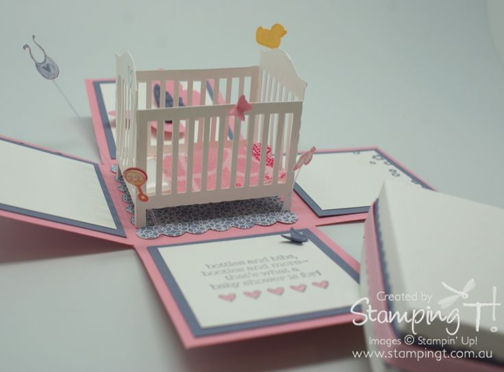 how to make baby blocks out of boxes | Baby Shower | Stampin' Up! Australia - Independent Demonstrator ...
