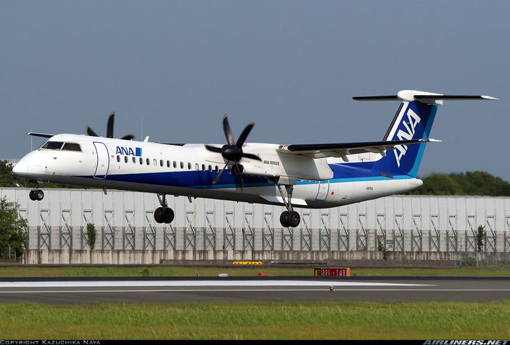 All Nippon Airways - ANA (ANA Wings) JA851A De Havilland Canada DHC-8-402Q Dash 8 aircraft picture