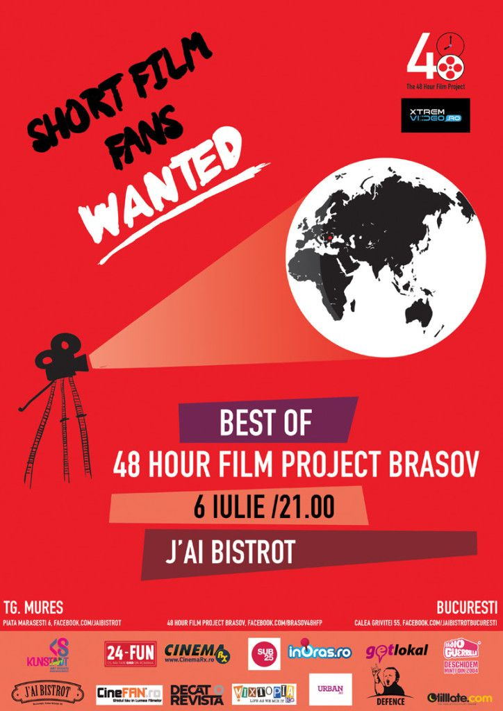 Best of 48 Hour Film Project Brasov la Bucuresti si Targu Mures