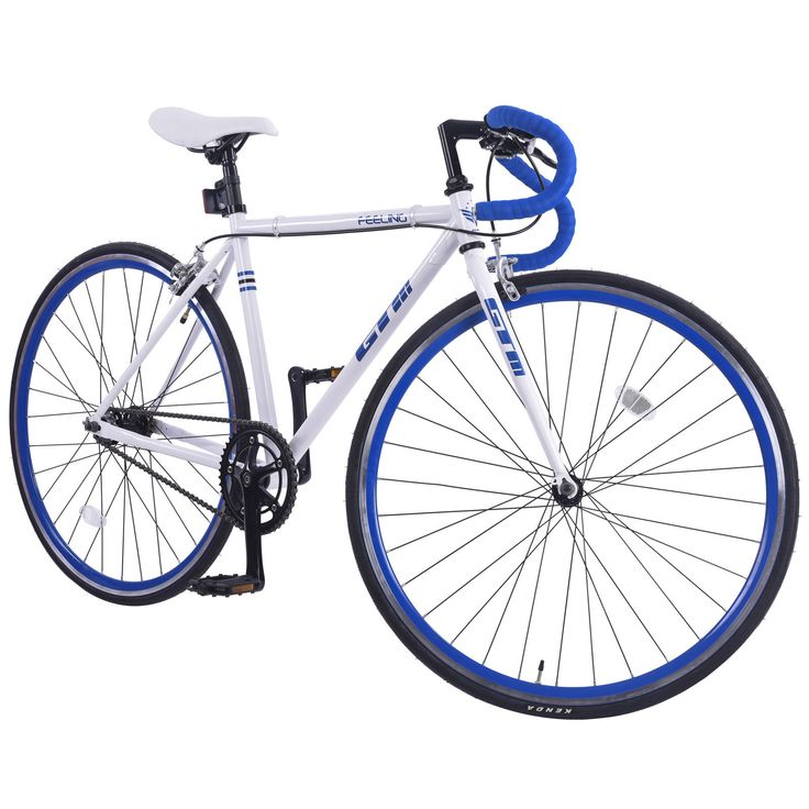 ON SALE: Fixed Gear Single Speed Aluminum Frame Road Bike Racing Bicycl w/Flip Flop Hub