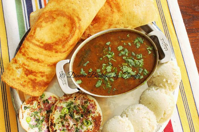 Dinner Boutique: Tiffin Center Sambhar