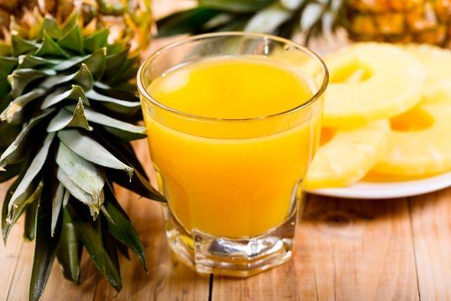Suco de abacaxi para emagrecer