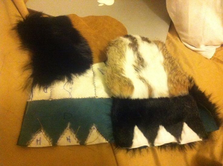 This is the making of of a pair of mittens inspired by the motion dance an the alaskan people.