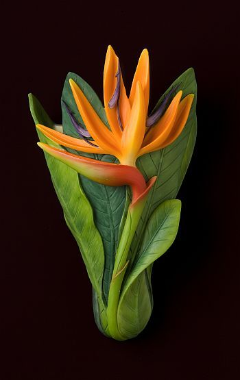 Bird of Paradise Wall Vases