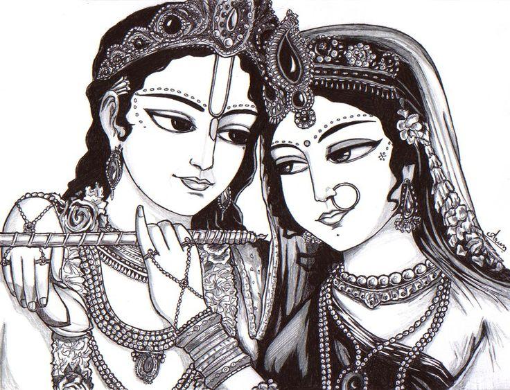 Lord Krishna And Radha Rani By Nairarun15 On Deviantart Lord Krishna Radha Krishna Art Radha Rani