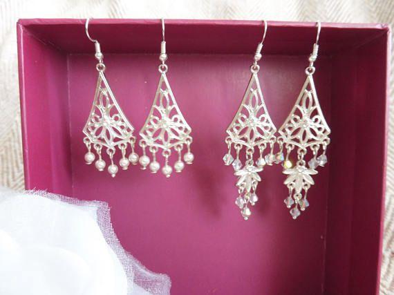 Swarovski Chandelier Earrings. Handmade Chandelier earrings.