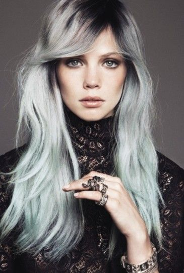 Edgy Hairstyles for Long Hair 2013-2014
