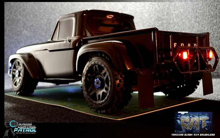 RC Patrol – Photoshoot – Tiny Fat – Slash 4×4 with 1966 Ford F-100 Truck Body | Radio Control Patrol