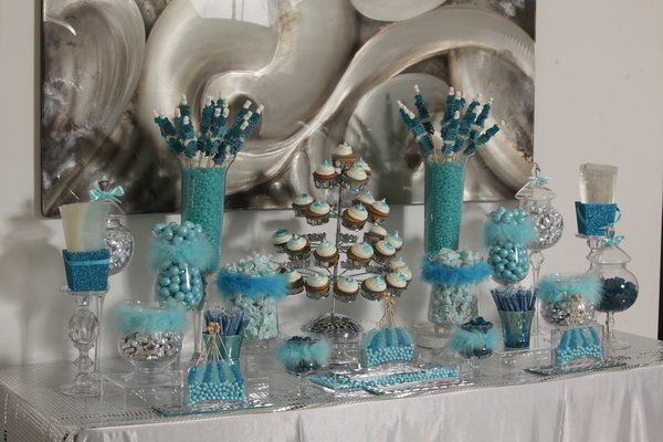 candy buffets quality pinterest baby showers blue candy and