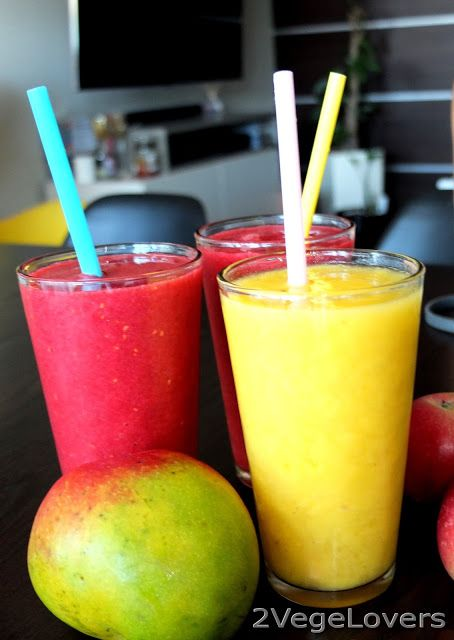 2 VegeLovers: MANGO SMOOTHIE AND ENERGY DRINK