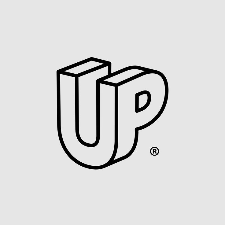 UP logo by DesignReligion   – Typografie