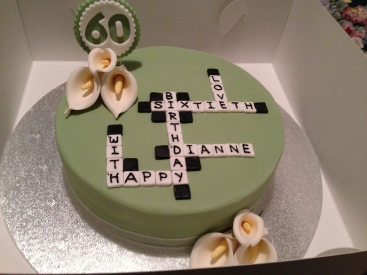 Best 25 Scrabble Cake Ideas On Pinterest Unique Cakes
