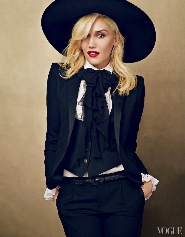 January 2013 Vogue Cover Gwen Stefani | ALL EYES ON US