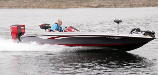 The Ranger Boats Z520C handled well, tracking cleanly through a variety of maneuvers.