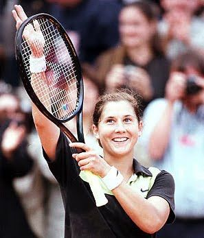 Monica Seles, a Tennis legend who would have reached unconquerable heights had she not met with the unfortunate accident.