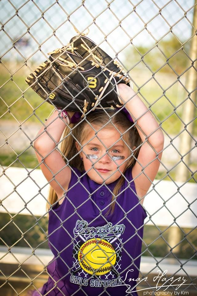 Glamour softball picture. Mean face(kinda) jersey 8u Spring Softball