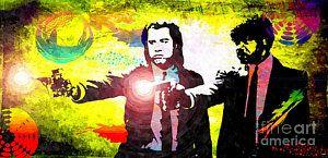 Pulp Fiction Mixed Media - Pulp Fiction by Daniel Janda