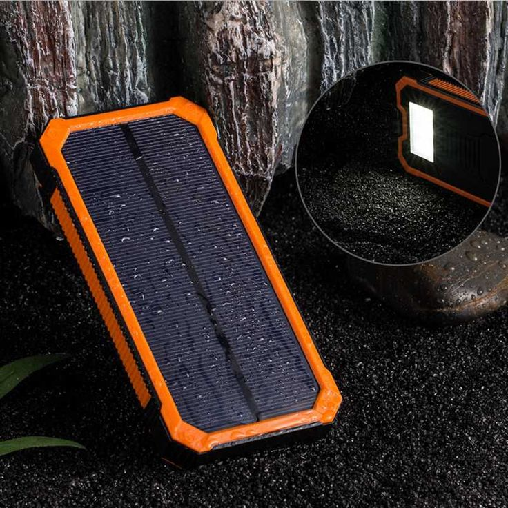 Hot Sale Solar Charger Portable Solar Power Bank 10000mAh Dual USB Battery Charger External Backup Power Pack for phone //Price: $US $12.26 & FREE Shipping //     #iphone