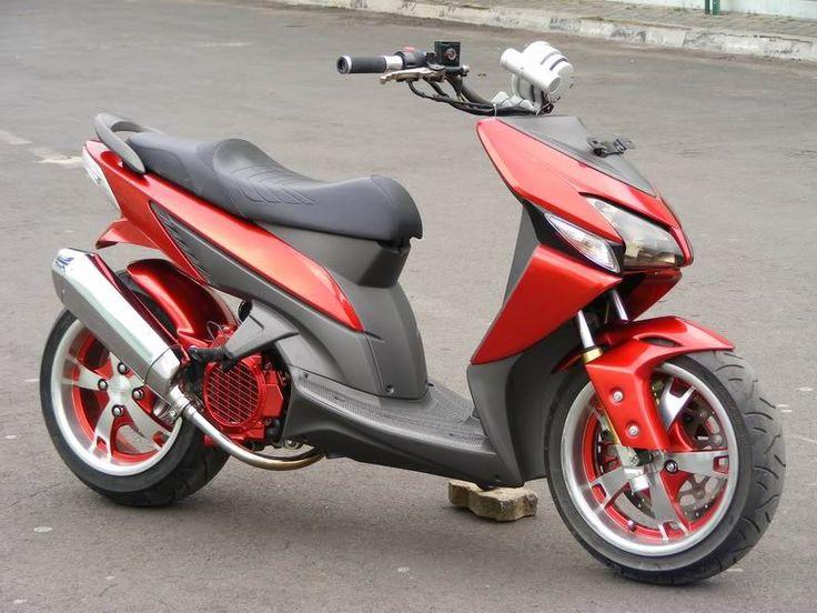Foto Modifikasi Honda Vario Techno Terbaru 2015 1 | Kunci Motor