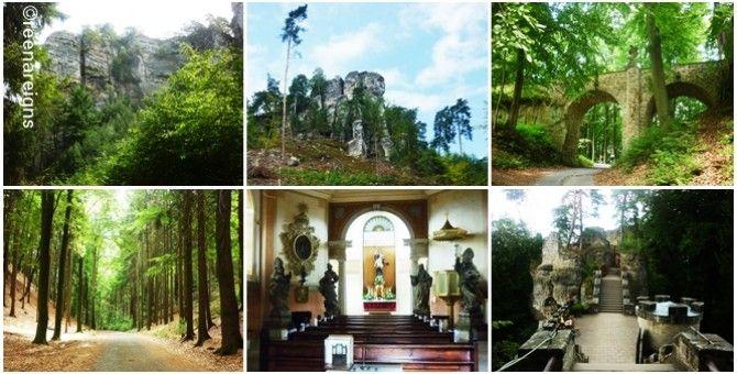 Valdštejn castle in the heart of Czech Paradise