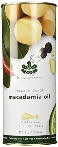 Brookfarm Premium-Grade Natural Macadamia Oil, 42.3 fl oz... https://www.amazon.com/dp/B00S8SB17M/ref=cm_sw_r_pi_dp_x_XQy-yb79MA9VW