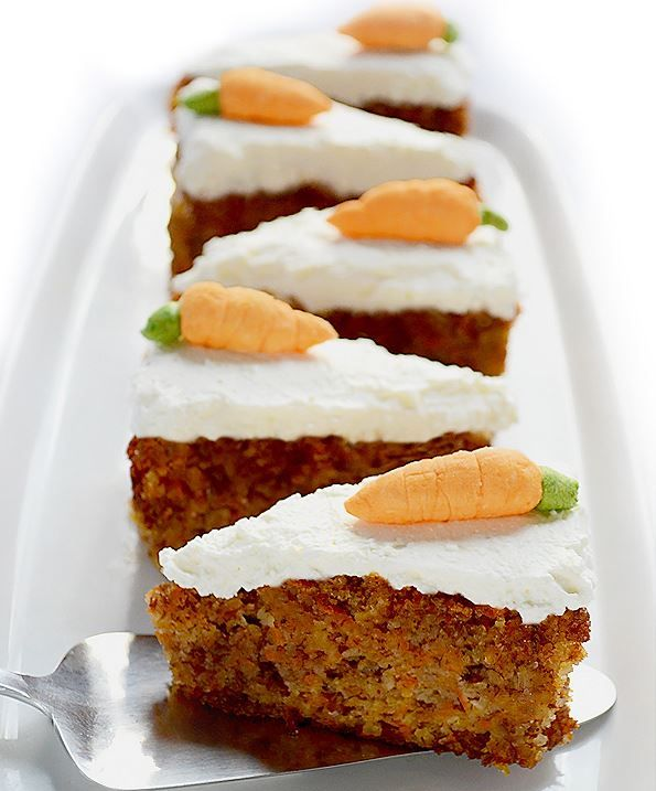 Good For You Carrot Cake