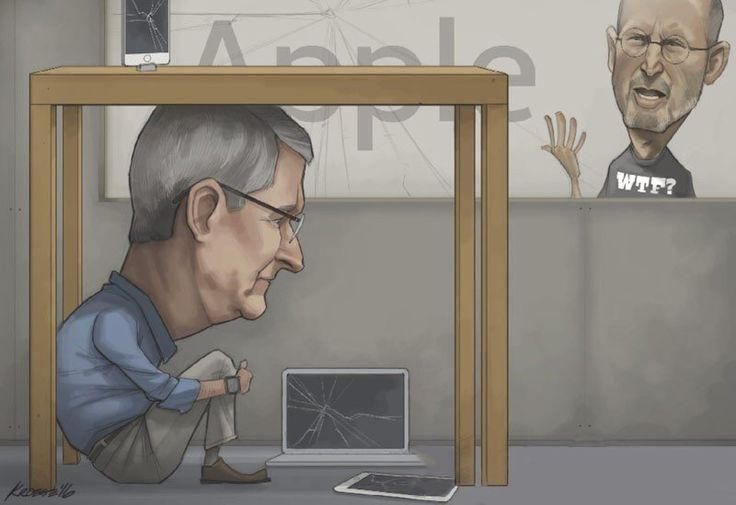 Так бы поступил Стив Джобс, если бы был жив и возглавлял свой #apple 🍎