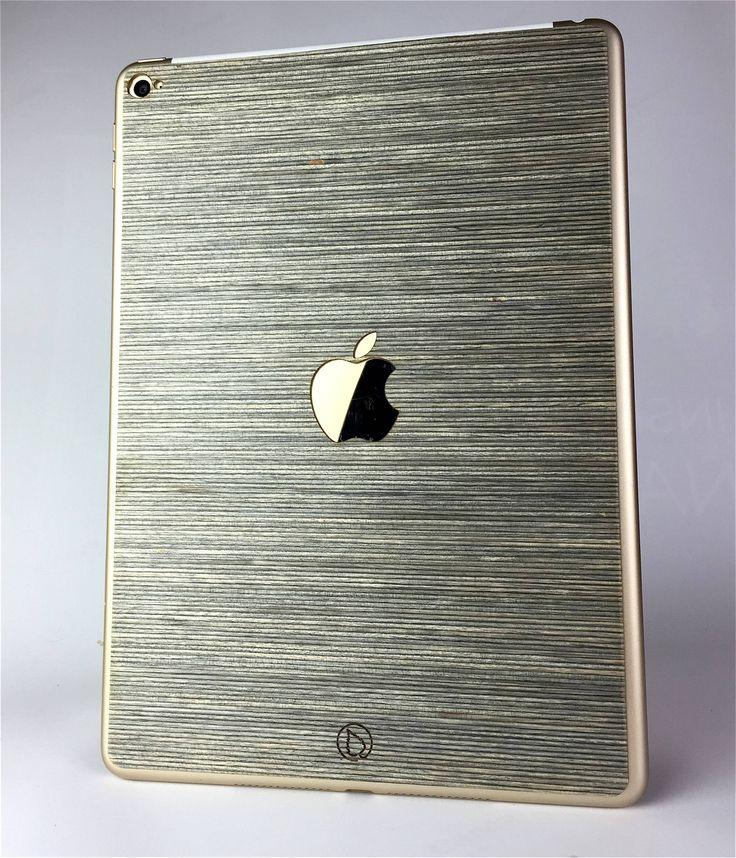 Wooden Skin for iPad | Lastu | Tech Meets Nature. Wooden iPad Case cover. Apple logo design.