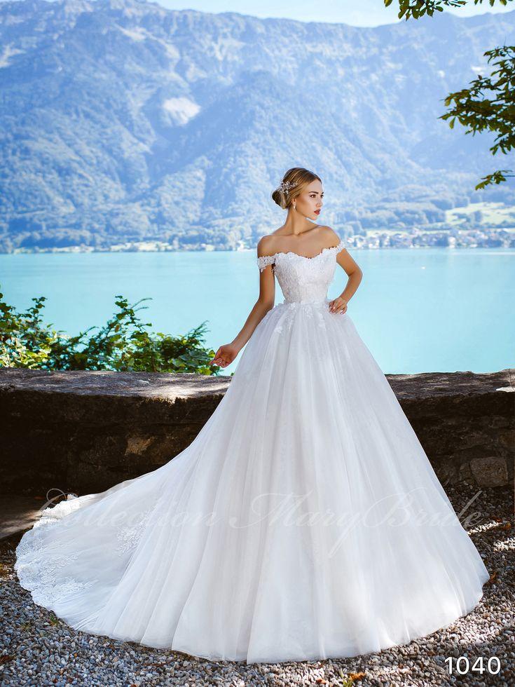 Mary Bride - 1040 (RENDELHETŐ) Kölcsönzési díj: 120.000,- Ft  https://www.europaszalon.hu/menyasszonyi-ruhak-budapest-ruhaszalon