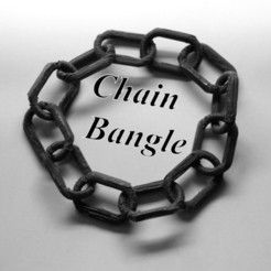 Chain bangle more http://www.3d-fabric-jean-pierre.com/