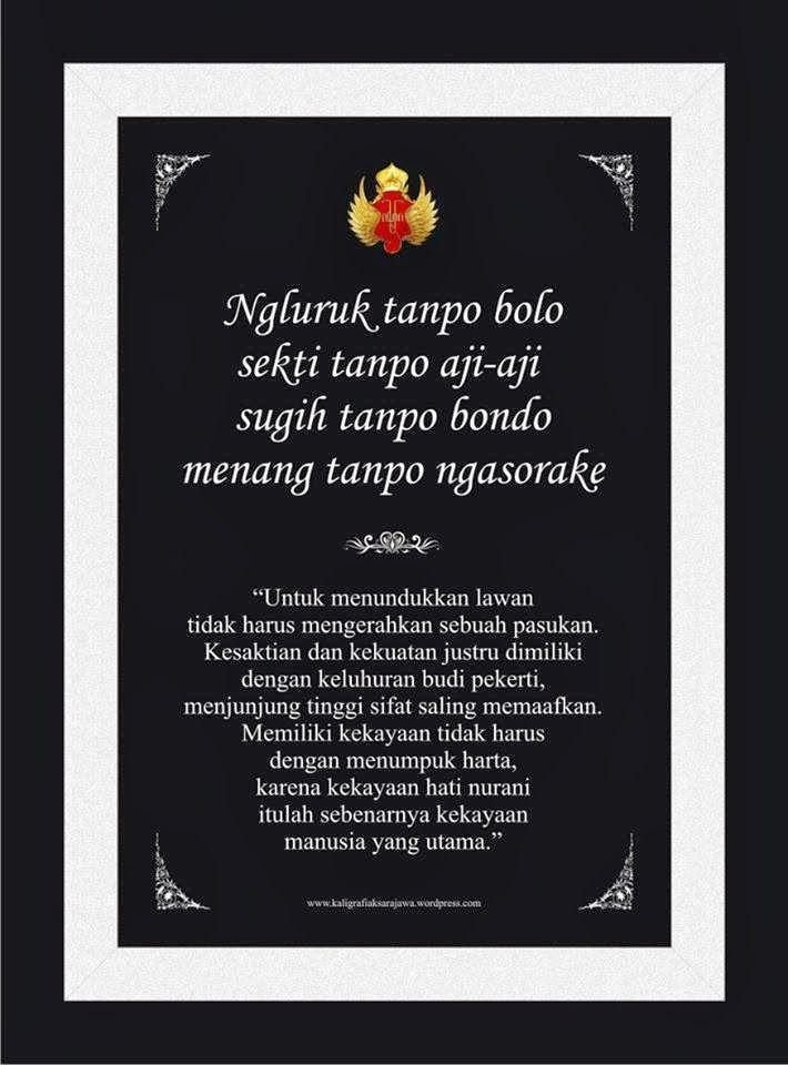 Kalimat bijak Jawa