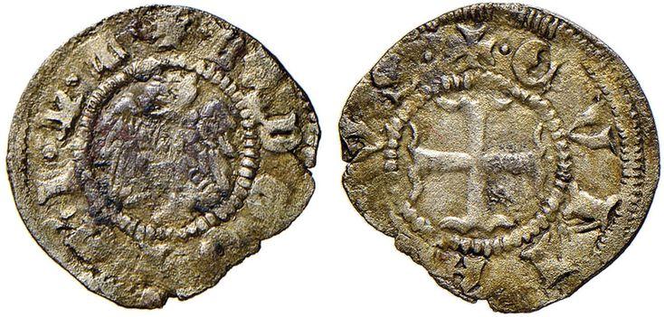 NumisBids: Nomisma Spa Auction 51, Lot 1306 : COMO Ludovico il Bavaro (1314-1327) Denaro – MIR 271 MI (g 0,50) RR...