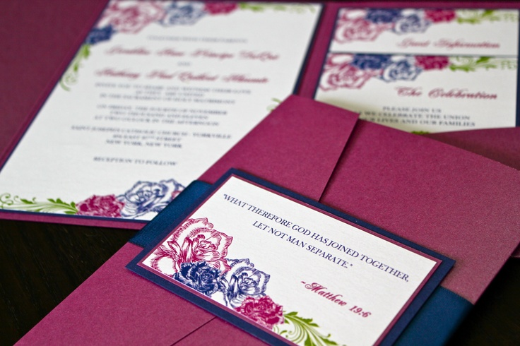 Wedding Divas Invitations Template: 17 Best Images About Jewel Tone Invitations On Pinterest