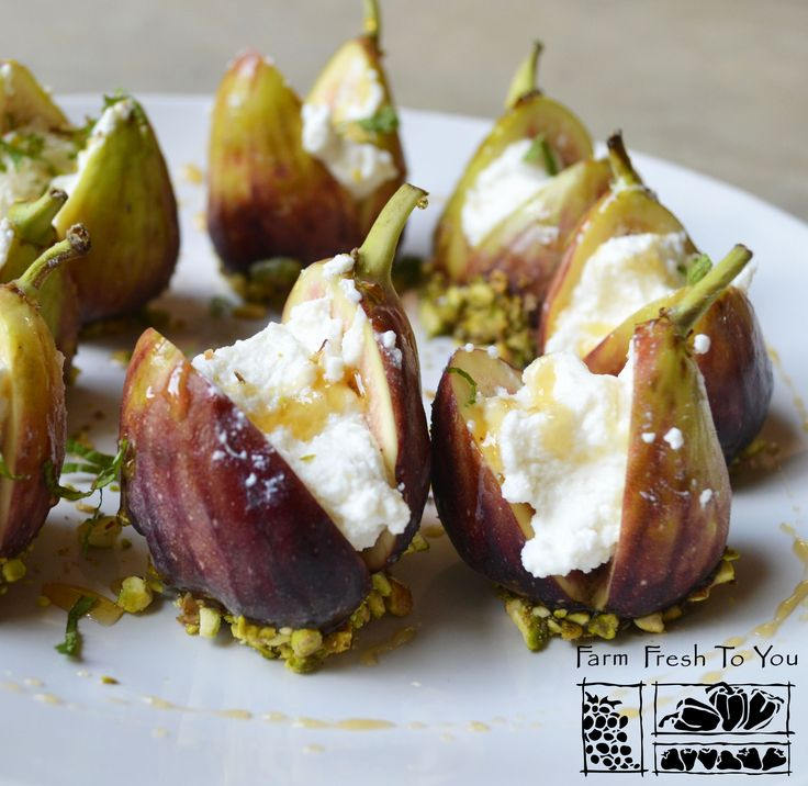 Ricotta Stuffed Figs - This elegant dish works great as an appetizer or even dessert.