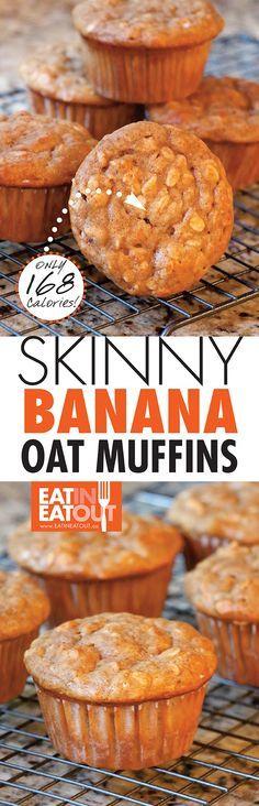 ... 2016) | Recetas | Pinterest | Banana Oat Muffins, Oat Muffins an