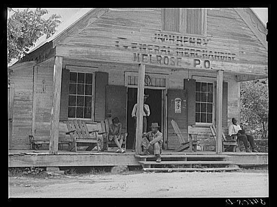Melrose, Natchitoches Parish, Louisiana. Old store on John Henry.