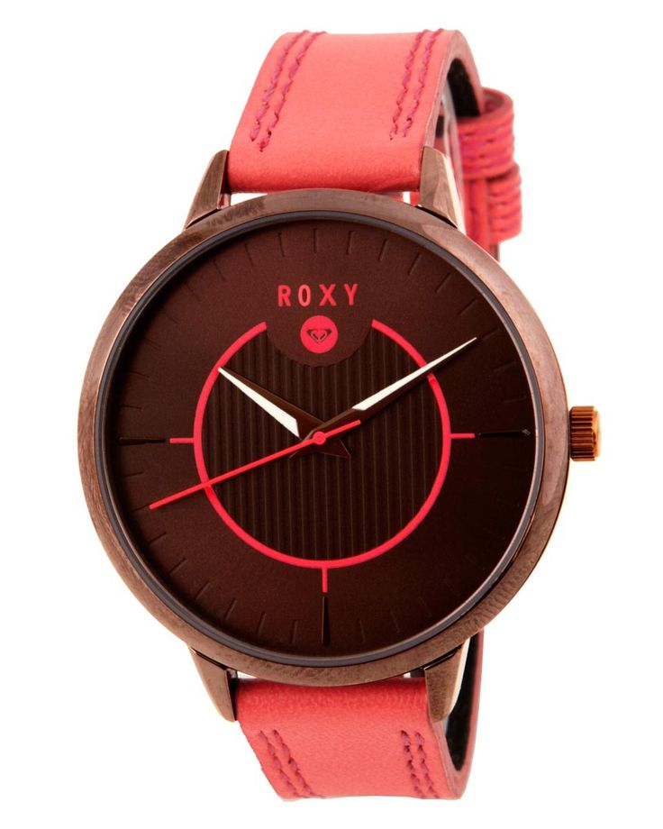 ROXY™ Ladies Avenue Leather Watch