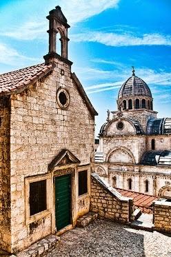 Šibenik, Croatia. Our tips for 25 places to see in Croatia: http://www.europealacarte.co.uk/blog/2012/01/05/what-to-do-in-croatia/