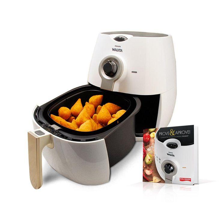 Fritadeira Airfryer Philips Walita   Livro Prove E Aprove Airfryer - Philips Walita com o melhor preço é no Walmart!