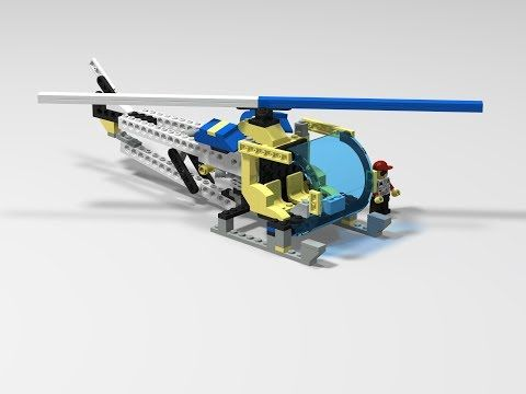 LEGO CUSTOM - LEGOMAN BELL 47 VER 1 0 HELICOPTER - PHOTOS