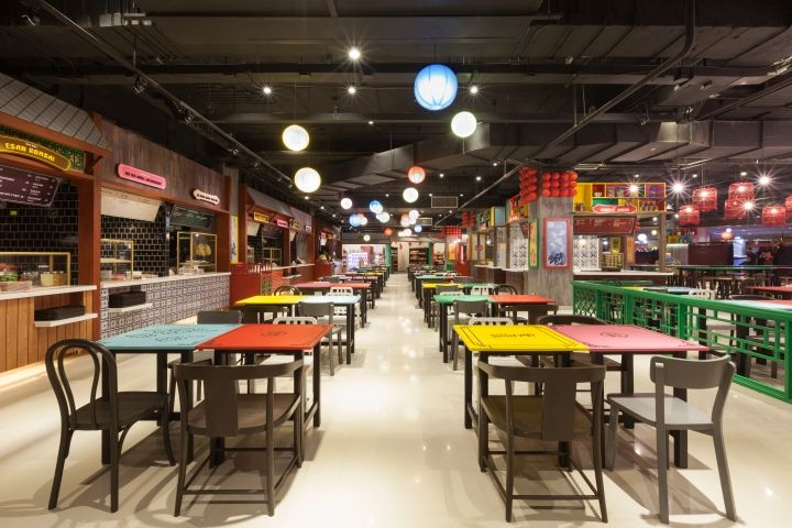 Food Bazaar by party/space/design, Patong – Thailand » Retail Design Blog